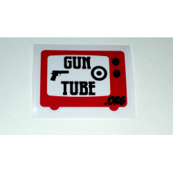 GunTube Sticker